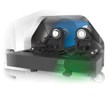 Flexonyomógépek, tekercsvágók, laminálók gyártása | Gearless servo-CNC printing deck-Vibration damping