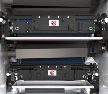 Flexonyomógépek, tekercsvágók, laminálók gyártása | Doctor blade chamber and ink application