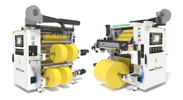 Flexonyomógépek, tekercsvágók, laminálók gyártása   Two complete machines with one investment